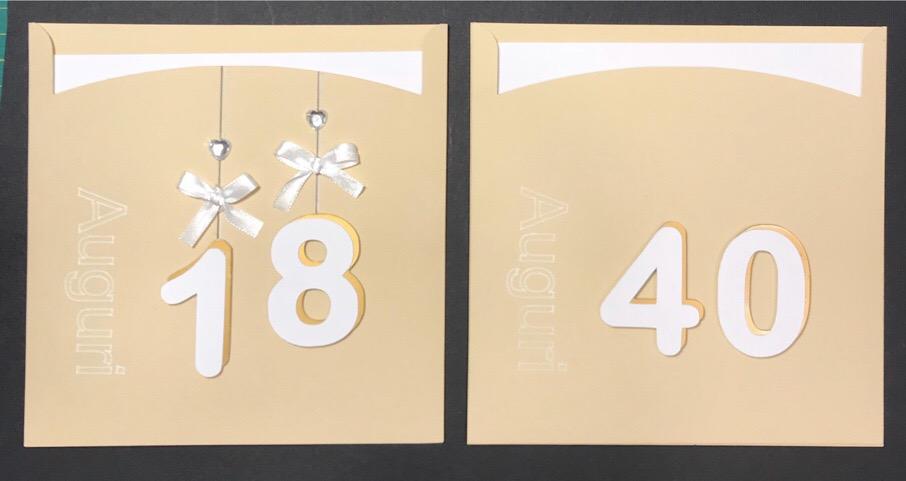 Biglietti personalizzati per compleanni e anniversari Cartoleria Al 14 Milano